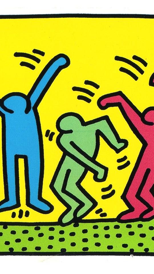 Keith Haring Pop Art Wallpapers Desktop Background