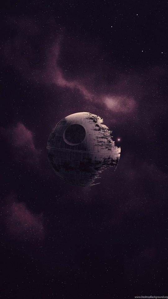Star Wars Death Star Artwork Space Purple Wallpapers Hd Desktop Background