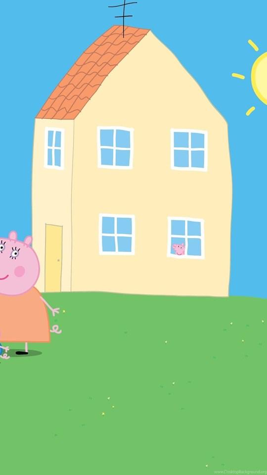 Peppa Pig Yellow Peppa Pig Home Play Doh Dady Pig Home ...