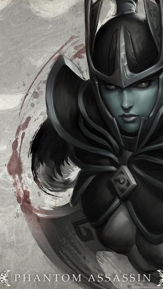 Dota 2 Loading Screen Phantom Assassin Wallpapers Hd Desktop