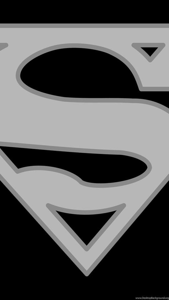 Superman Logo Black And White Backgrounds Wallpapers Desktop Background