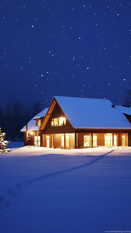 Beautiful Winter Night Wallpapers Desktop Background