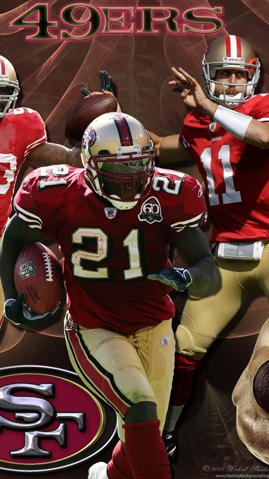 Wallpapers By Wicked Shadows San Francisco 49ers Team Wallpapers