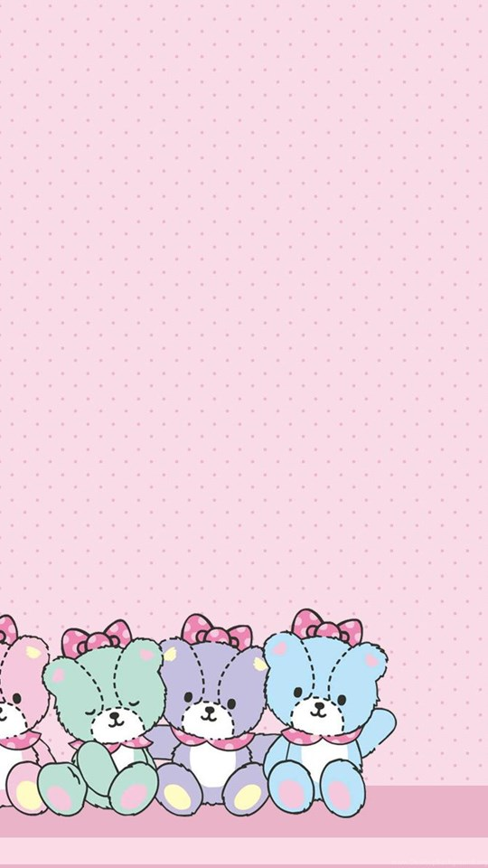 Sanrio hello kitty desktop wallpaper images desktop background android hd 540x960 360x640 voltagebd Image collections