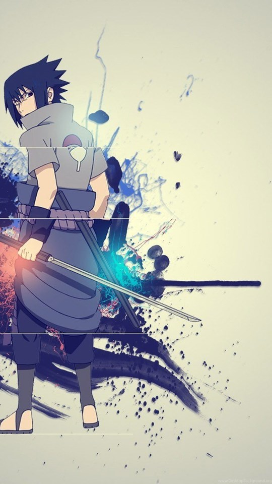 Naruto Sasuke Uchiha Hd Desktop Wallpapers A43 Desktop