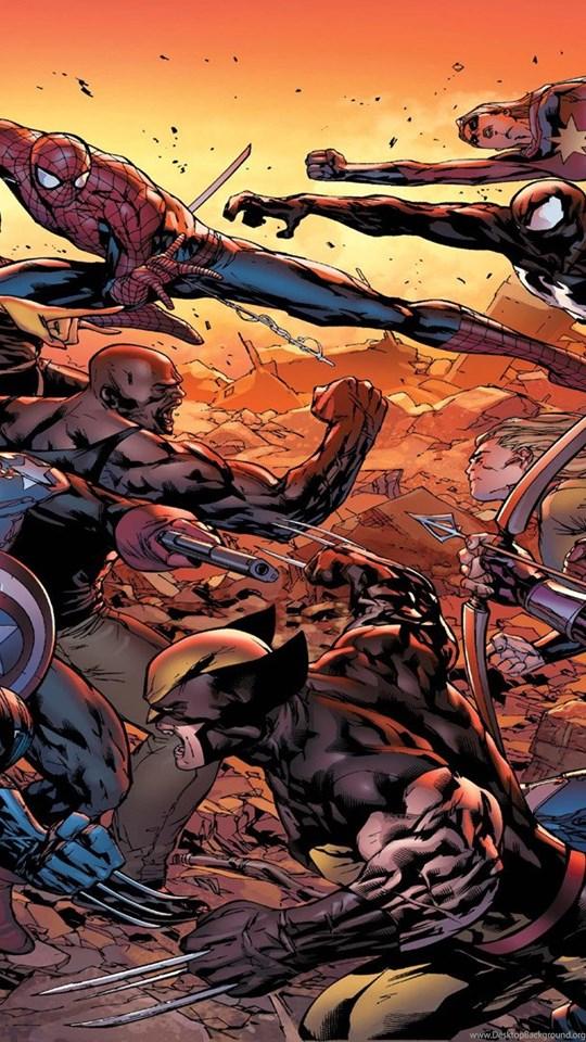 Marvel Heroes Game Wallpapers Desktop Background