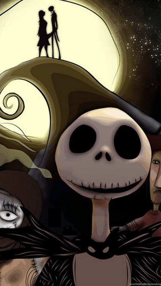 Nightmare Before Christmas Wallpaper Android.Hd Jack Skellington Face Nightmare Before Christmas