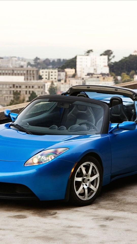 Tesla Roadster Sport Exotic Car Wallpapers Desktop Background
