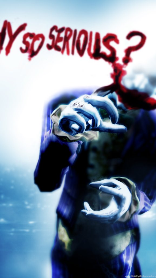 Joker Why So Serious Wallpapers Photo Desktop Background