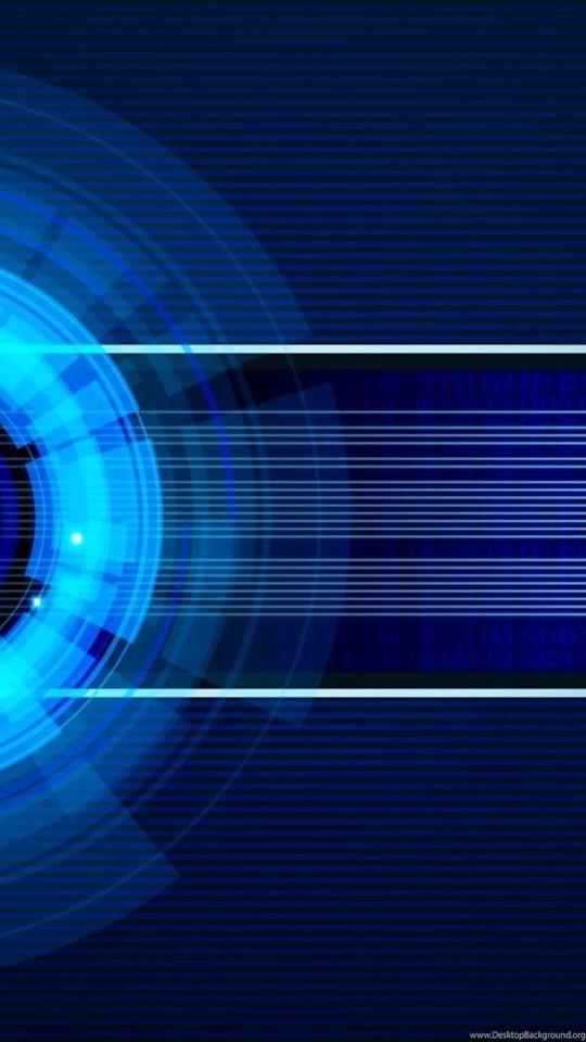 Futuristic Vector Technology Circuits Graphic Design Blue