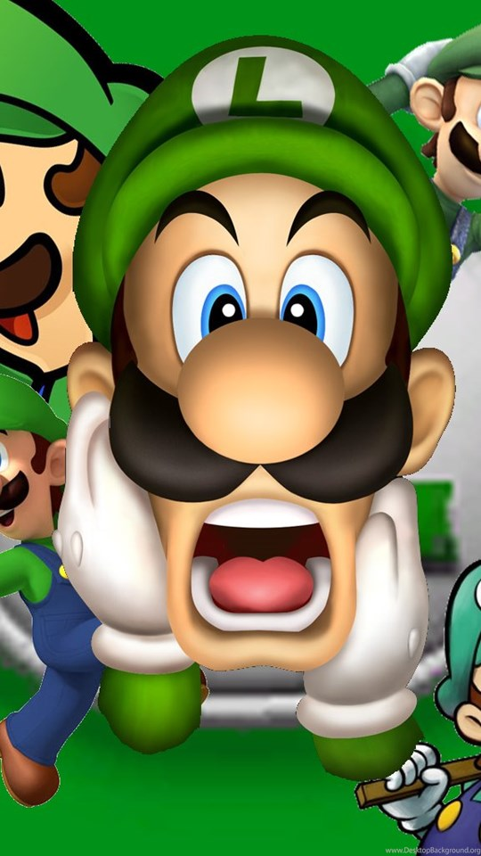 Luigi super mario bros wallpapers 32954728 fanpop desktop mobile android tablet voltagebd Images