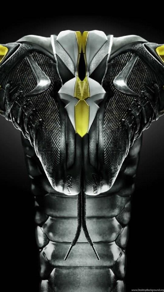 Kobe Bryant Logo Wallpapers Black Mamba Artistic Desktop