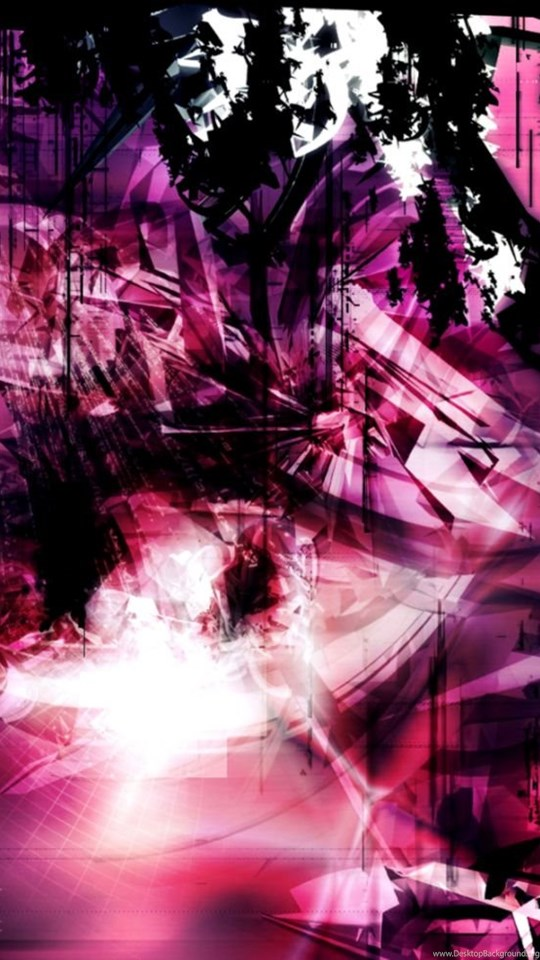 Black And Pink Abstract Wallpapers Desktop Background