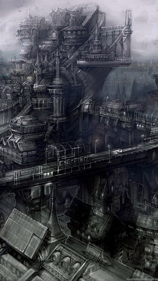 Goth City Dark Gothic Wallpapers Free Gothic Wallpapers Dark