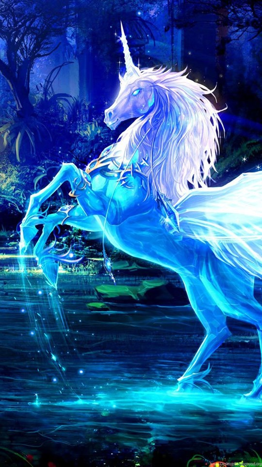 Wallpapers unicorn wallpapers zone desktop background android hd 540x960 360x640 voltagebd Image collections