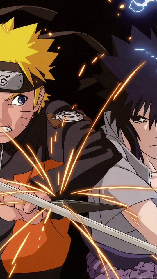 Naruto Vs. Sasuke HD Desktop Wallpapers : Widescreen ...