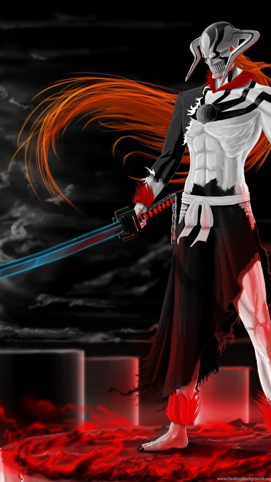 Ichigo Vasto Lorde Bleach Desktop Wallpapers