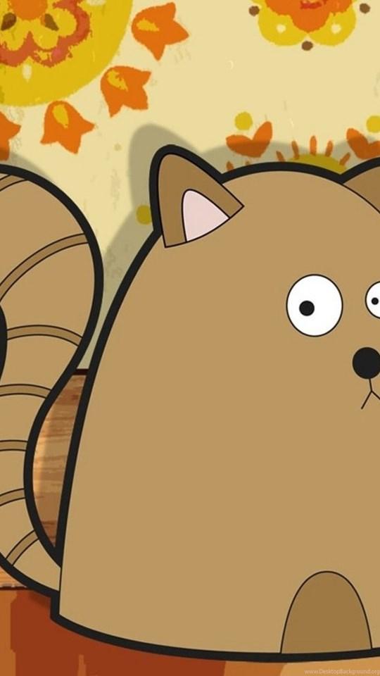 Two Cartoon Cat Ipad Wallpaper Ipad Wallpapers Ipad Backgrounds Desktop Background