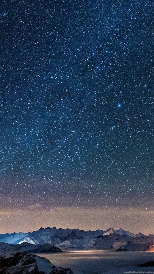 High Resolution Beautiful Starry Night Sky Wallpapers Hd