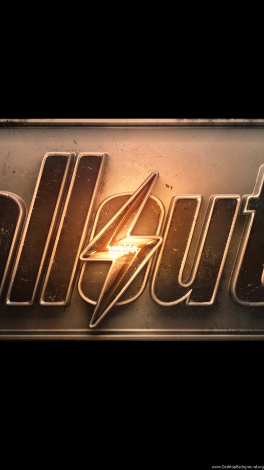 Fallout 4 Logo Wallpapers In 4k Iphone 6 Plus Wallpapers Hd