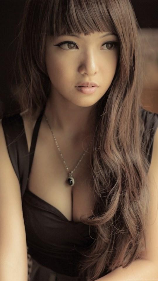 Щель красивых азиаток