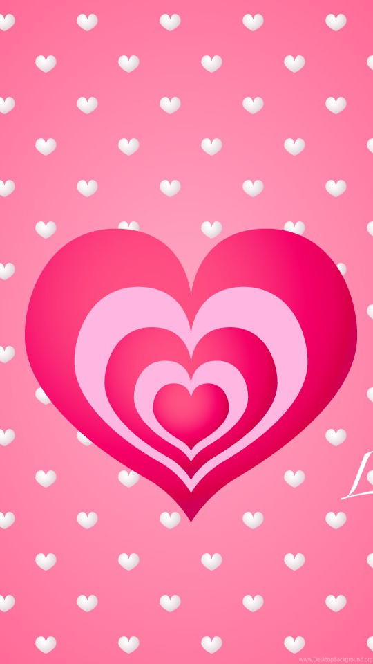 Wallpaper Backgrounds Cute Heart And Love Wallpapers With