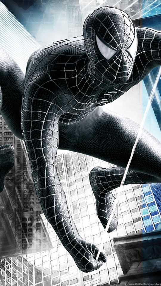 Black Spiderman Wallpaper Hd For Mobile The Galleries Of Hd Wallpaper