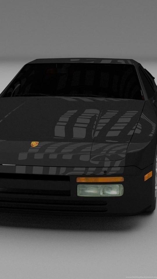 Porsche 944 Turbo 3D Model  obj  stl  blend  dae CGTrader