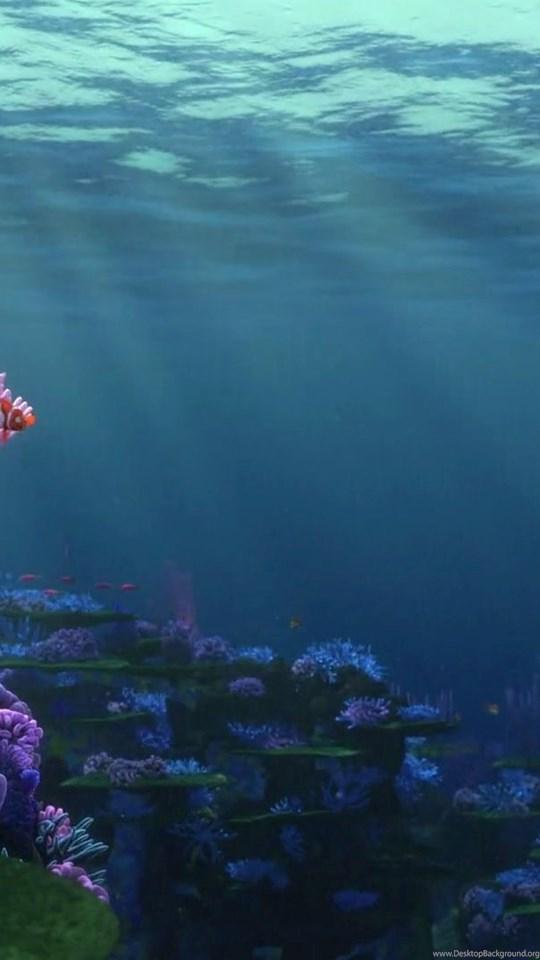 Finding Nemo Ocean Backgrounds Desktop Background