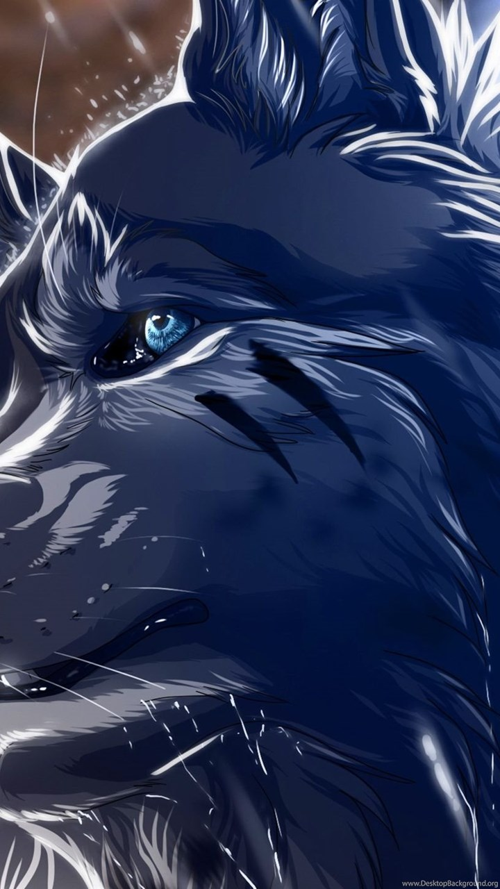 2560x1440 Anime Wolf Wallpapers Desktop Background