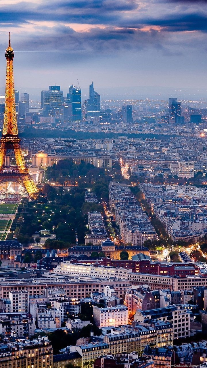 3931 Landscape Paris Night View Hd Wallpaper Jpg Desktop Background