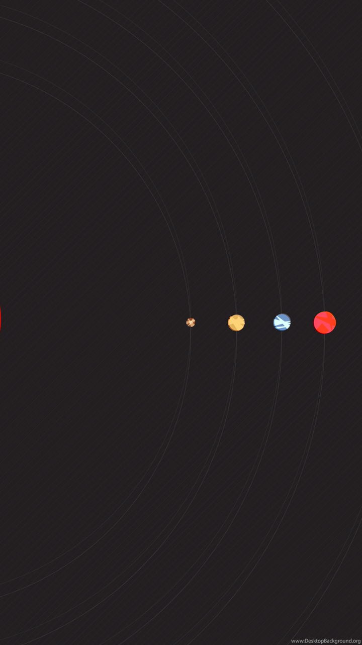 Minimalist Solar System Wallpapers 259086 Desktop Background
