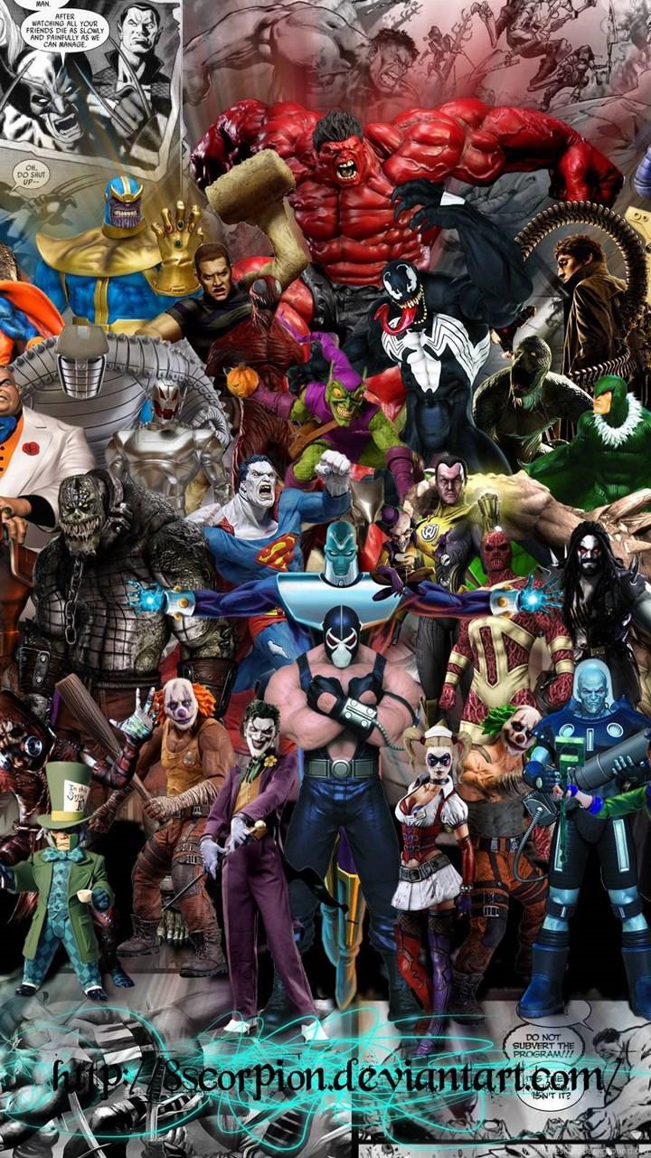 Marvel Villains Wallpapers Desktop Background