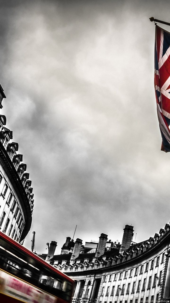 London Bus And England Flag Wallpapers :: HD Wallpapers Desktop ...