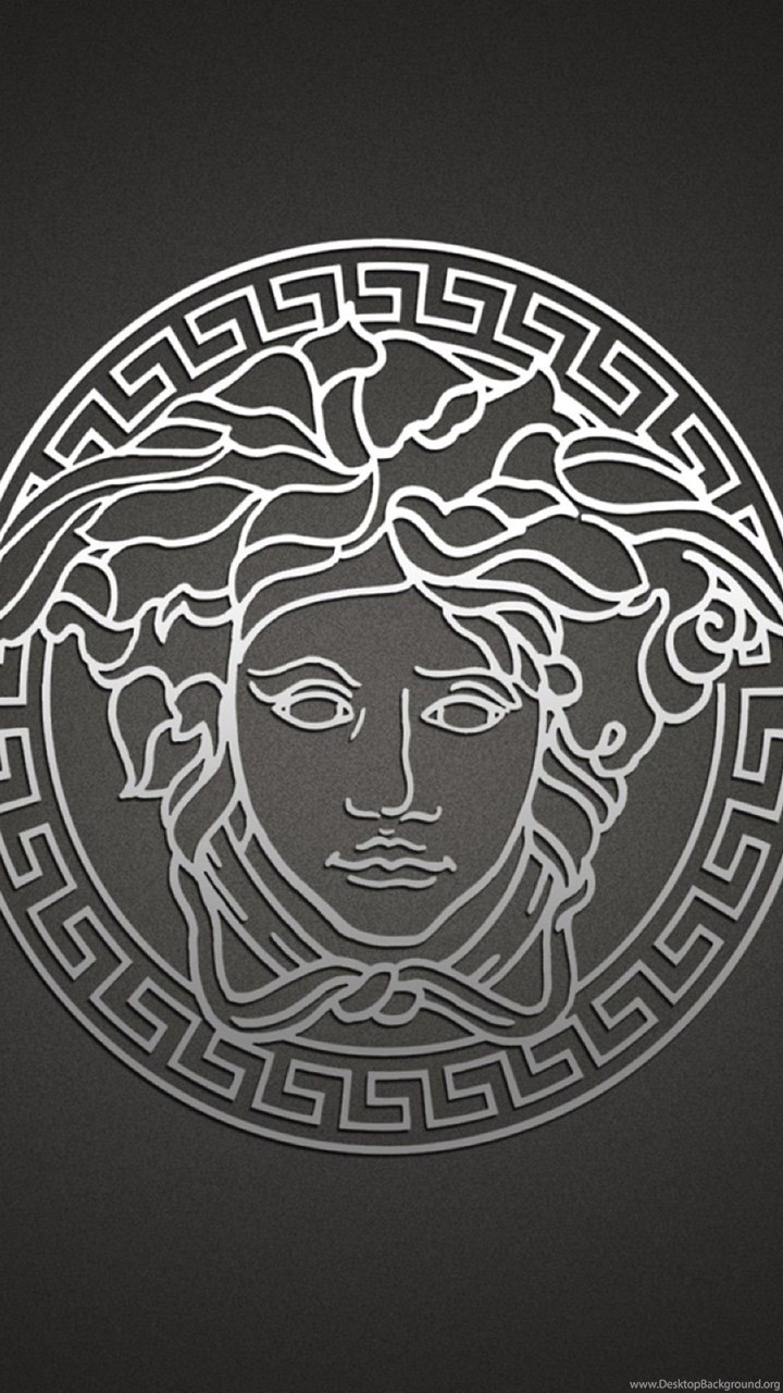 Versace Logo Mobile Wallpapers 4631 Desktop Background