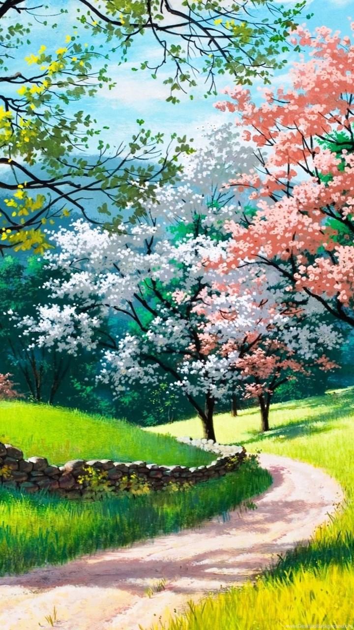 Spring Nature 4k Wallpapers Desktop Background