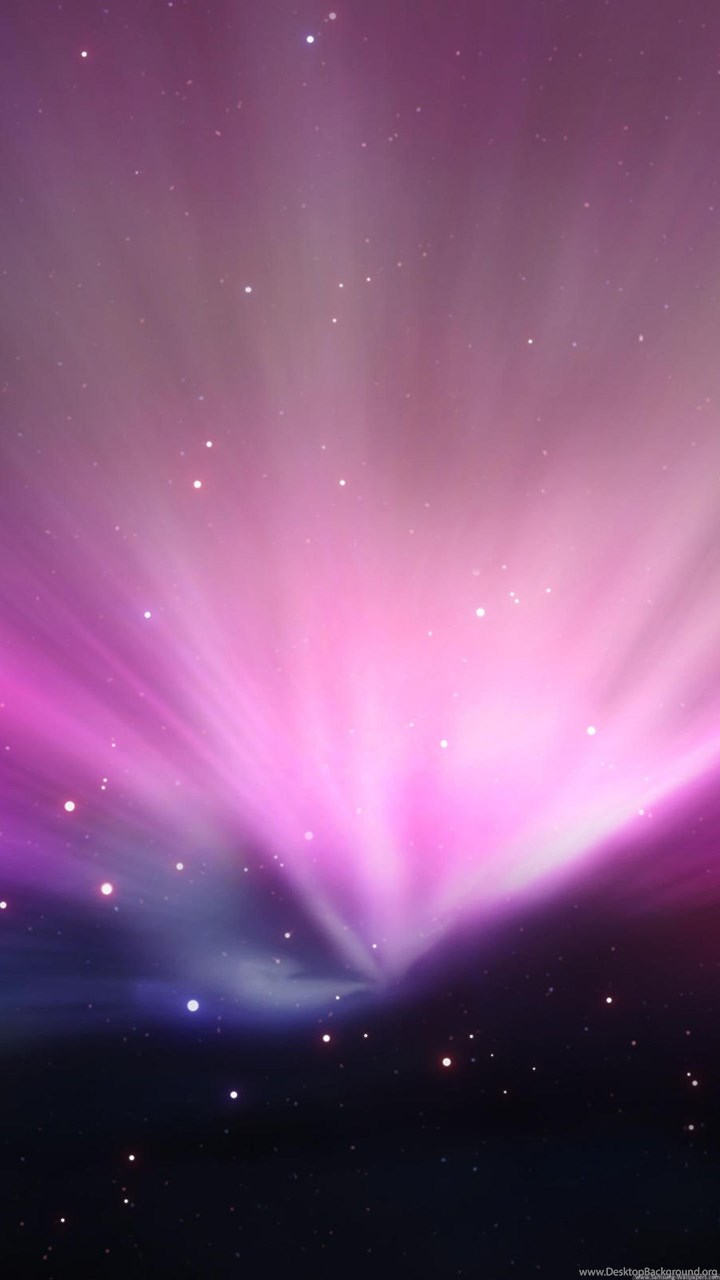 Pink Lights Aurora Lock Screen 1440x2560 Wallpapers For Samsung