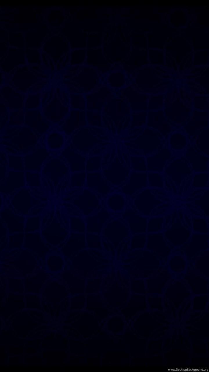 Dark Blue Vintage Pattern Black 2560x1440 Hd Wallpapers And