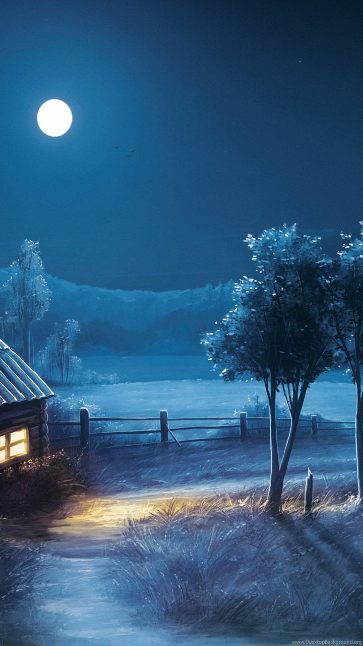 Top blue night wallpaper images for pinterest desktop for Sfondi 720x1280