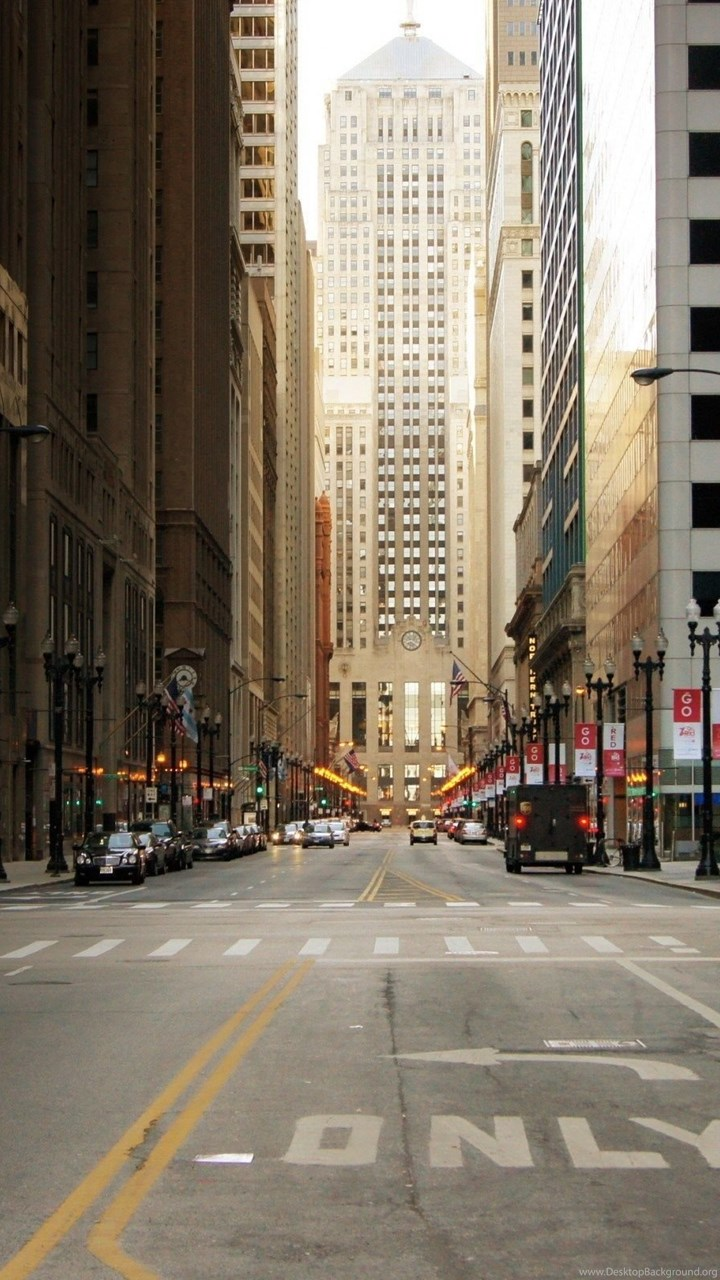 High Resolution Chicago City Street Wallpapers ...