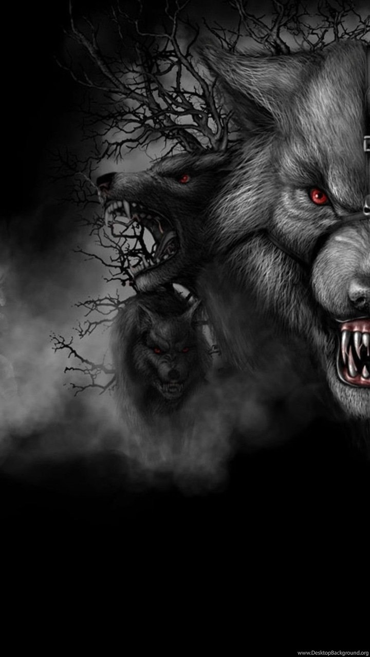 Dark Wolf Wallpapers Desktop Background
