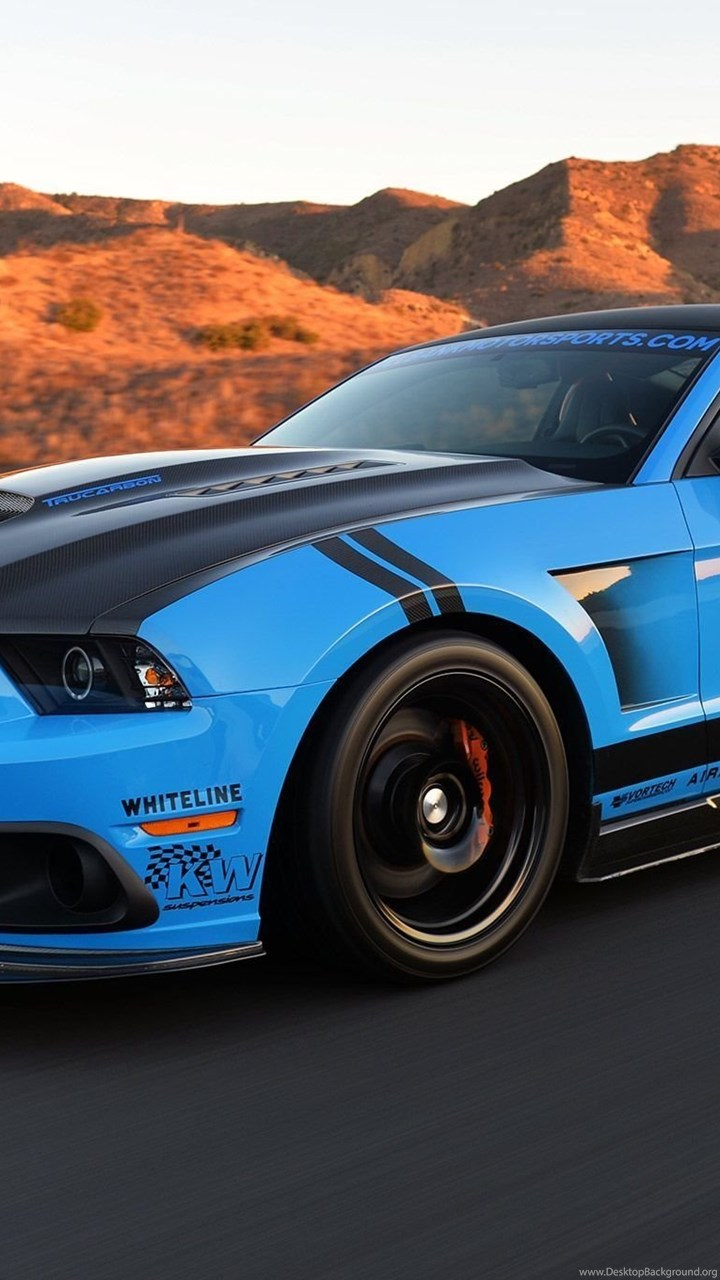 Modified 2012 Grabber Blue Ford Mustang Gt Cars Wallpapers