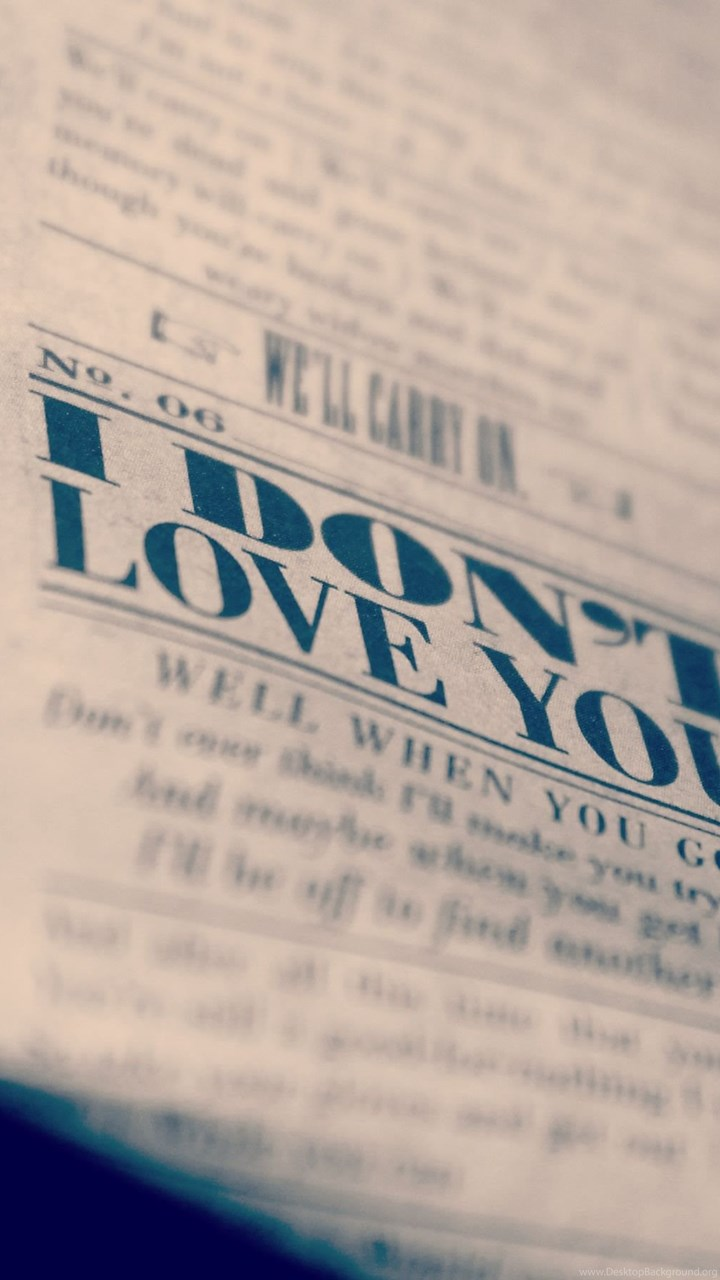 newspaper love macro mood emotion wallpapers desktop background