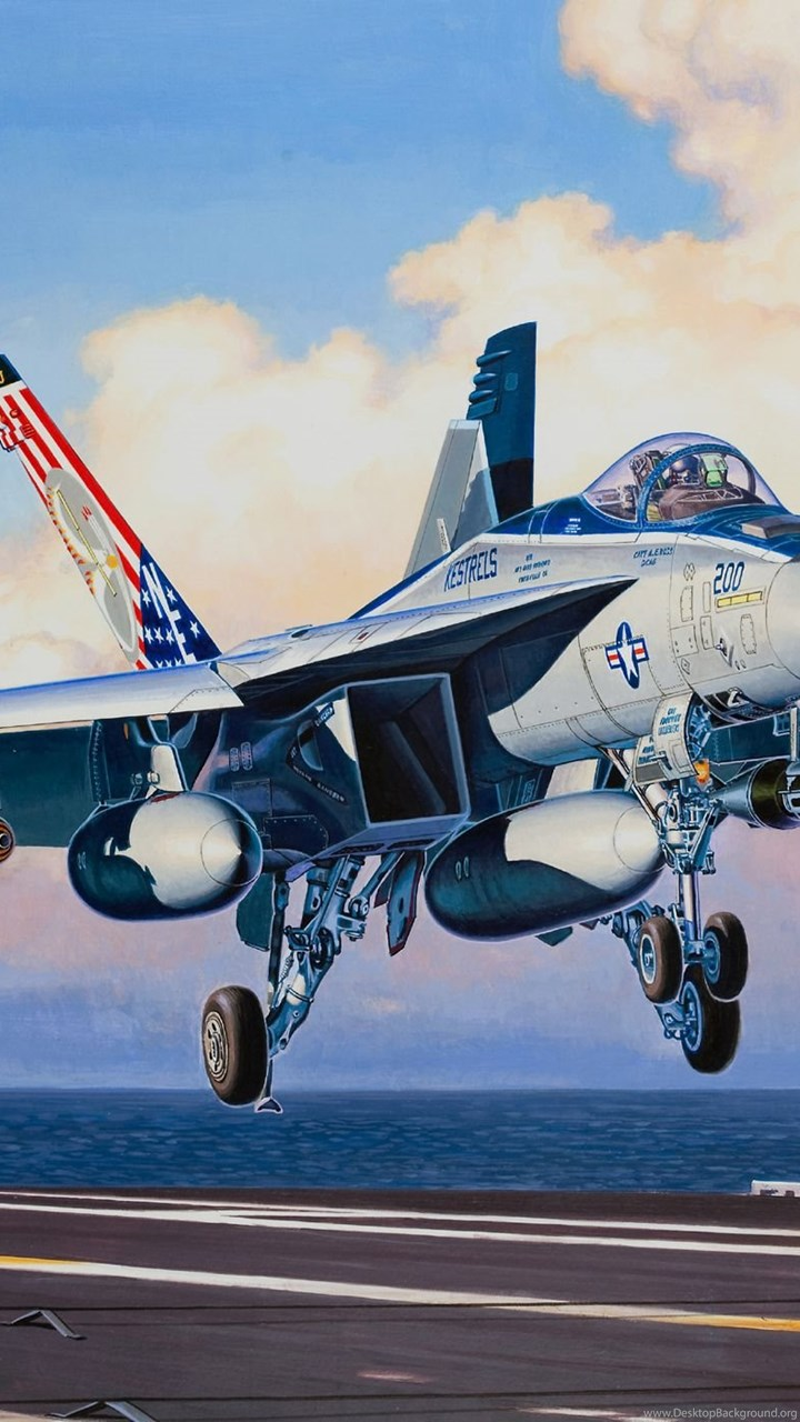 Wallpapers Airplane Painting Art Boeing F A 18e Super Hornet