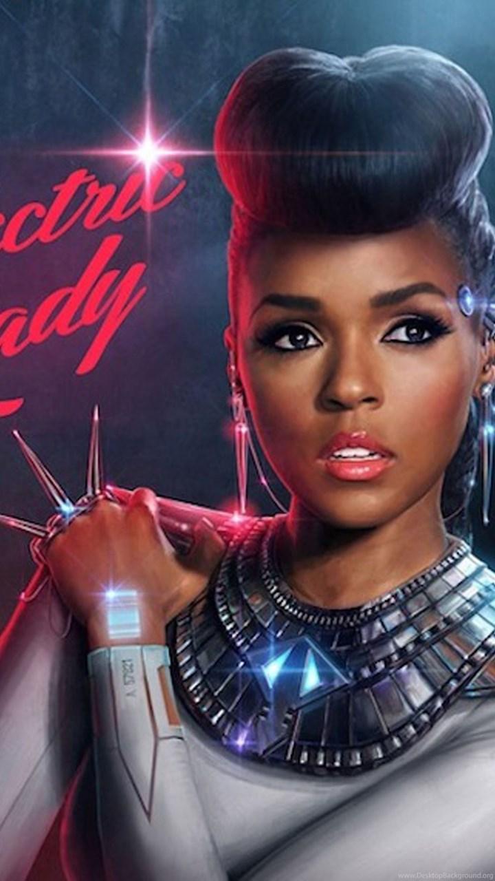 Pic > Janelle Monae Electric Lady Album Cover Desktop ...  Pic > Janell...