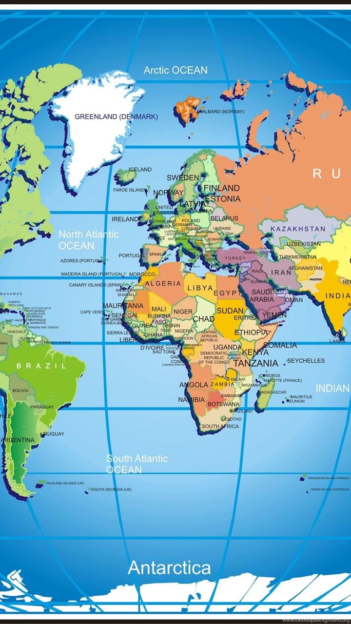 Widescreen world map hd wallpaper download world map freeg fullscreen gumiabroncs Images
