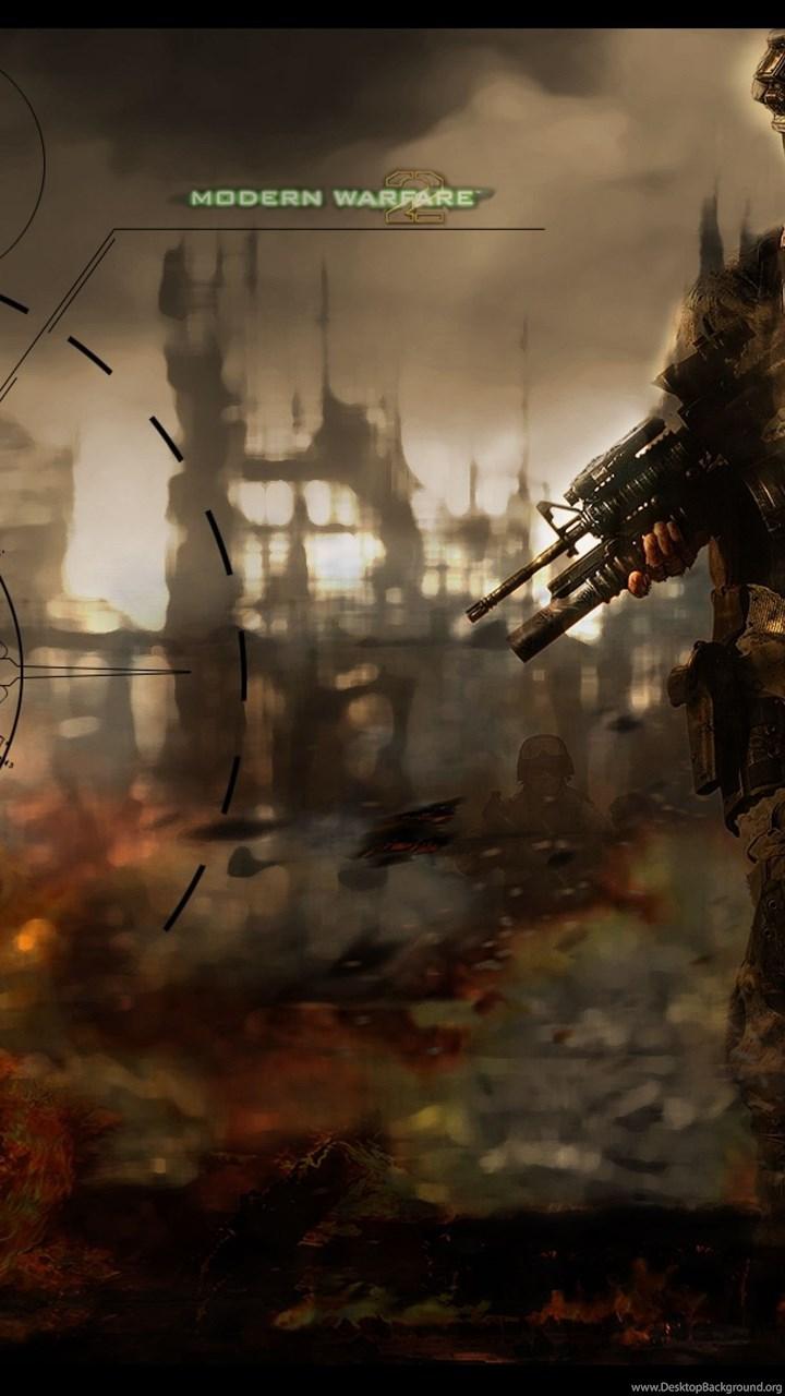 Download Call Of Duty Modern Warfare Wallpaper 4k