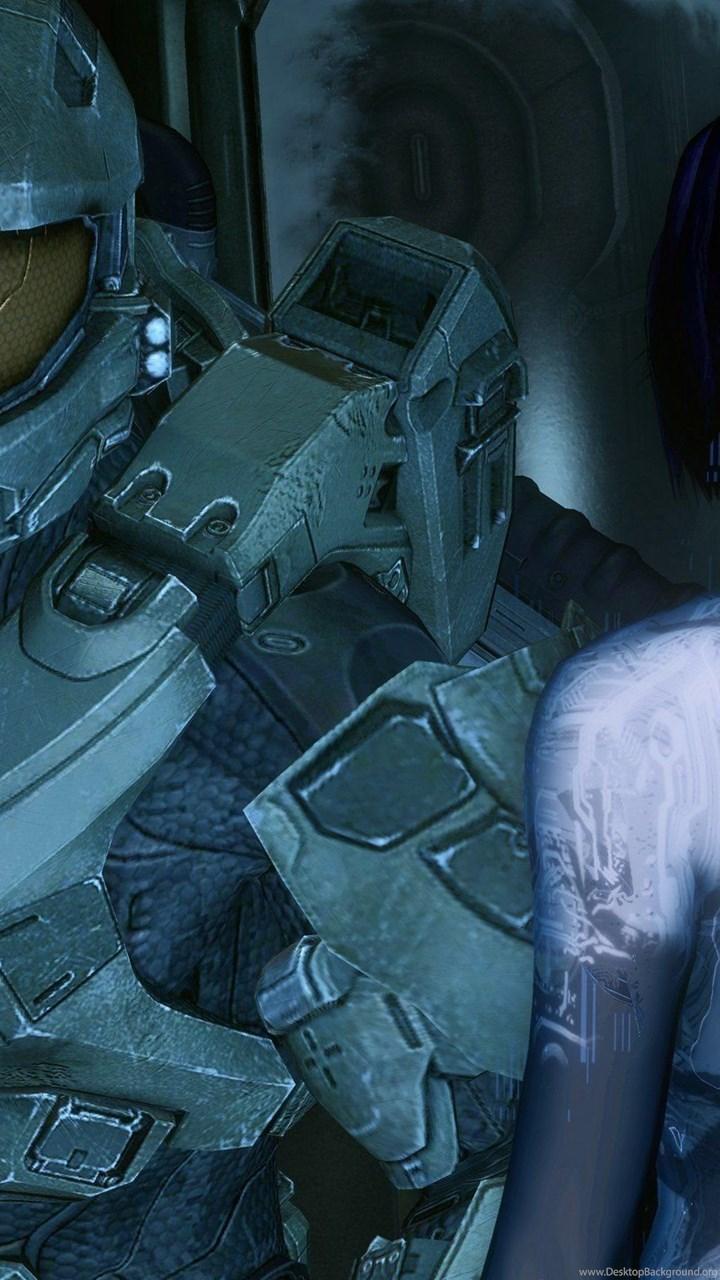 Video Games Cortana Master Chief Halo 4 Wallpapers Desktop Background