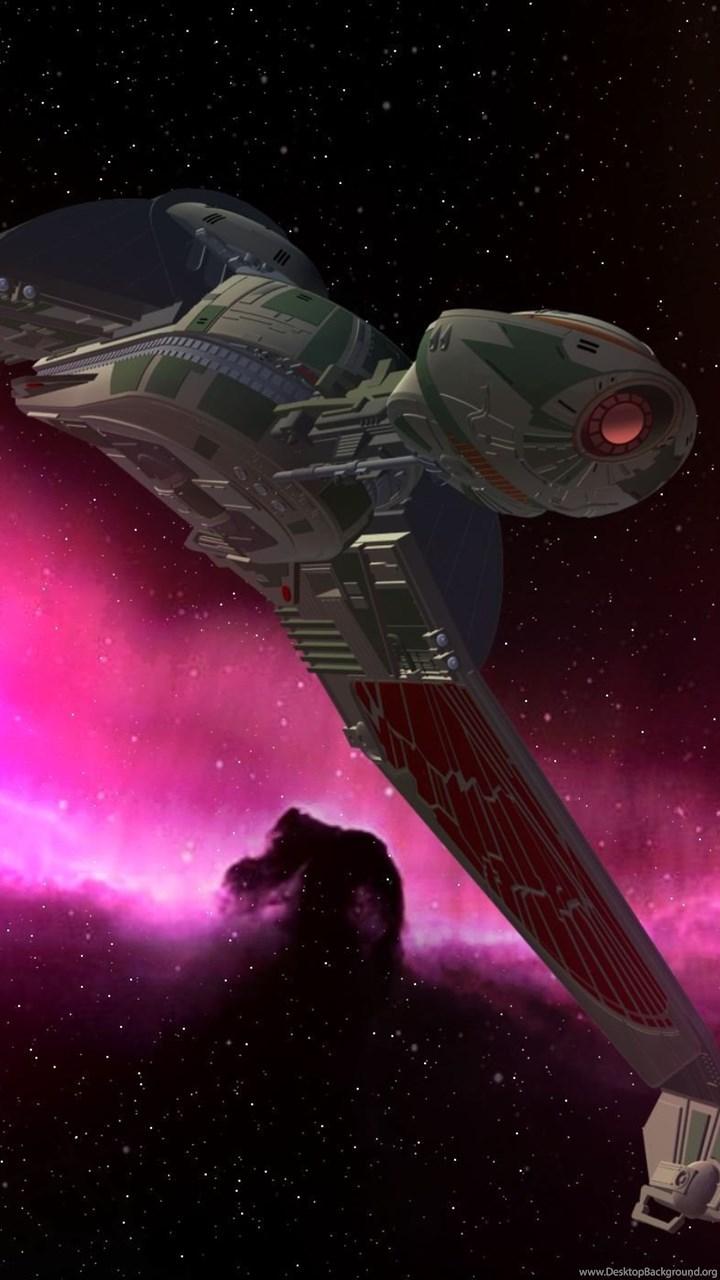 Klingon Birds Of Prey Computer Wallpapers Desktop Backgrounds