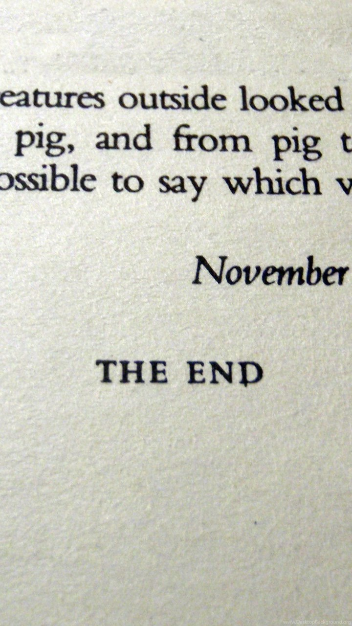 Quotes Animal Farm Books George Orwell Typewriters Wallpapers